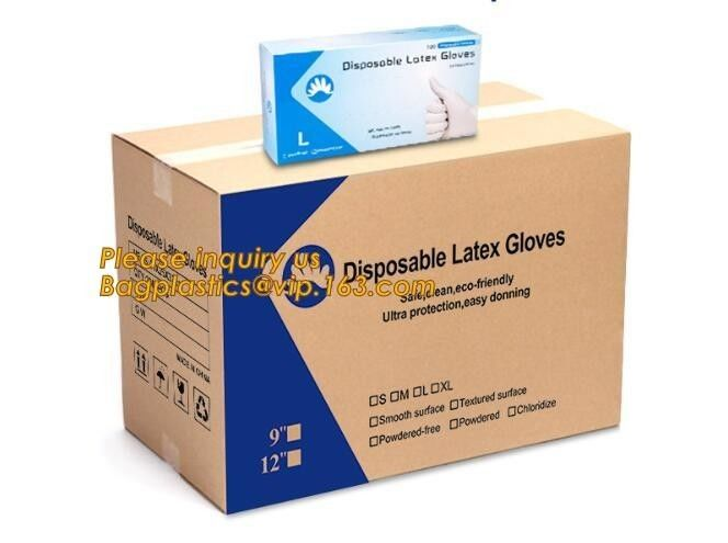 Disposable latex glove medical examination gloves,Medical Natural latex examination glove no powder,disposable medical g